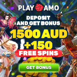 PlayAmo Casino AU$1500 Welcome Bonus