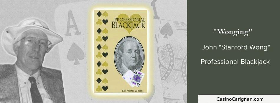 Wonging Blackjack Counting