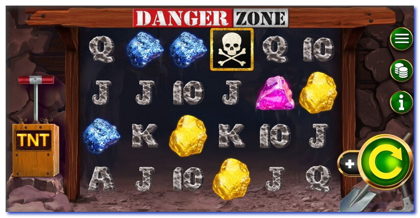 Danger Zone Pokie