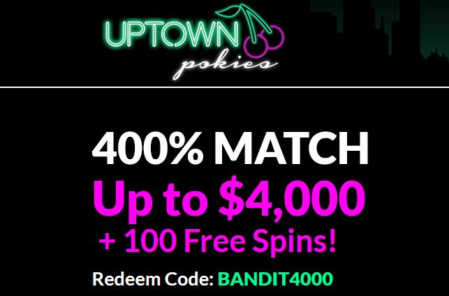 BANDIT4000 Uptown Pokies