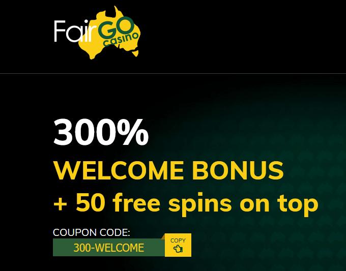 Cash Bandits 2 300 Bonus FairGo Casino